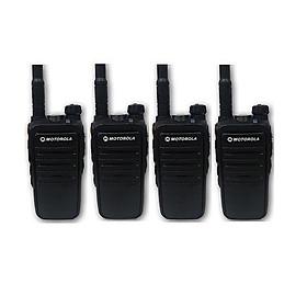 Bộ 4 Bộ đàm Motorola M8 - Hàng chính hãng