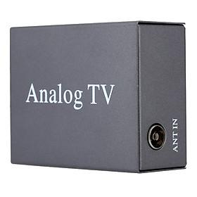 Hình đại diện sản phẩm Super Mini Metal Design DVB Car DVD TV Receiver Easy Installation Monitor Analog TV Tuner Strong Signal Box with Antenna