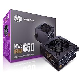 Nguồn Máy Tính Cooler Master MWE White V2-230V ( 650W-700W-750W ) - Hàng Chính Hãng
