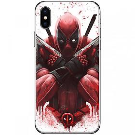Ốp lưng dành cho iPhone XS Max Deadpool