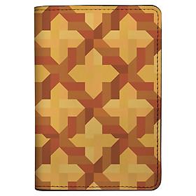 Bao Da Hộ Chiếu / PASSPORT Mika P-008-004-P (19 x 14 cm) - Nâu