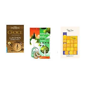 Combo 3 cuốn sách: Lựa Chọn Nhiệm Màu + Những Điều Tuổi trẻ Thường Lãng phí + Những Mảnh Ghép Tuổi Trẻ