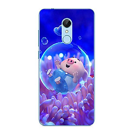 Ốp điện thoại dành cho máy Xiaomi Mi Mix 2S - Heo con trong bong bóng nước MS FUNN0030