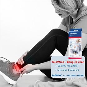 Băng quấn hỗ trợ và bảo vệ khớp cổ chân, mắt cá chân cao cấp Actimove TaloWrap-2