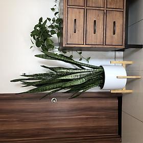 Kệ gỗ để chậu cây - Cho chậu đường kính 36 - 38 cm