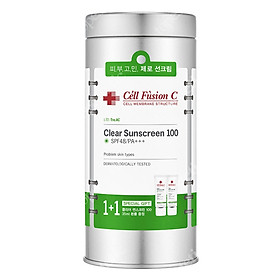 Kem chống nắng dành cho da dầu Cell Fusion C Clear Sunscreen 100 SPF 48/PA+++ (Nhập khẩu)