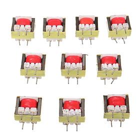 10pcs 1300 : 8 Ohm Audio Transformateur EE14 POS Haute fréquence 13x11x6mm