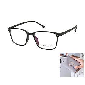 Gọng kính, mắt kính chính hãng SARIFA 2450 C2 (53-19-148) - Tặng 1 ví cầm tay (màu ngẫu nhiên)