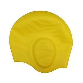 Nón bơi mũ bơi Silicon che tai CQ (Dòng cao cấp)-0