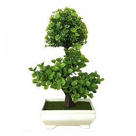 Simulated Potted Plants Artificial Plant Beautiful Fortune Grass Ball Plastic Balcony Fake Plant