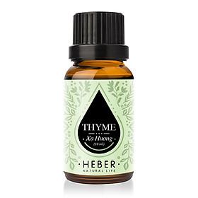 Tinh Dầu Xạ Hương Thyme Essential Oil Heber | 100% Thiên Nhiên Nguyên Chất Cao Cấp