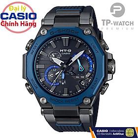 Đồng hồ nam Casio G-Shock MTG-B2000B-1A2DR chính hãng | MTG-B2000B-1A2 Kính Saphire - Bluetooth - Năng lượng mặt trời