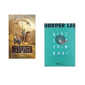 Combo 2 cuốn sách: Don Quixote nhà quý tộc tài ba xứ Mancha tập 1 + Giết con chim nhại