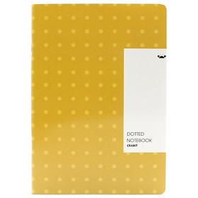 Vở Crabit Pattern Dotted 120 Trang 1618 - Màu Vàng Chấm Bi