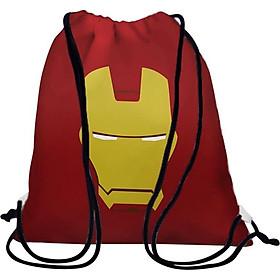 Balo Dây Rút Unisex In Hình Chân Dung Iron Man - BDFF189