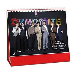 Lịch BTS 2021 lịch để bàn