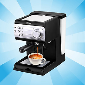 Máy pha cà phê tự động thiết kế sang trọng mang hương vị cafe đậm đà cho gia đình và văn phòng
