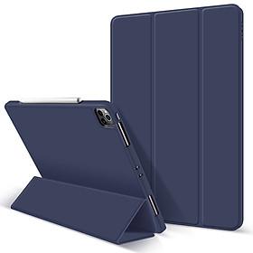 Bao Da Cover Dành Cho Apple Ipad Pro 11 Inch 2020 Có Khe Cho Apple Pencil Hỗ Trợ Smart Cover