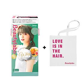 Thuốc Nhuộm Tóc Tạo Bọt Beautylabo – Whip Hair Color Nhật Bản - TẶNG KÈM TÚI XÁCH TIỆN LỢI