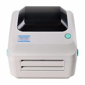 Máy in mã vạch nhiệt khổ 110mm Xprinter XP470B - Hàng Nhập Khẩu