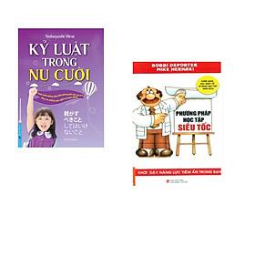 Combo 2 cuốn sách: Kỷ Luật Trong Nụ Cười + Phương Pháp Học Tập Siêu Tốc