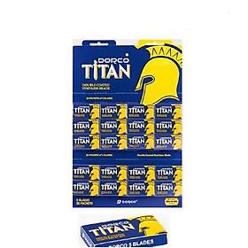 Hộp 100 lưỡi lam Dorco Titan
