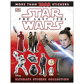 Star Wars The Last Jedi: Ultimate Sticker Collection