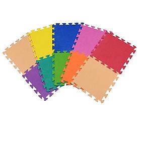 Bộ 10 tấm Thảm xốp lót sàn an toàn Thoại Tân Thành 9 màu (30x30cm)