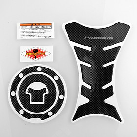 Progrip Carbon Faser Motorrad Auflage Schutz-Sticker + Gas Cap Für CBR F3 DIY