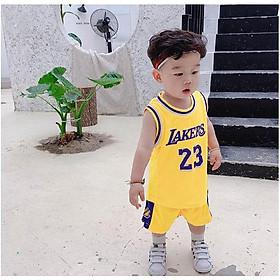 Bộ bóng rổ Màu Vàng cho bé từ 10 đến 28kg