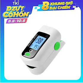 Máy đo nồng độ oxy trong máu độ bão hòa oxy SpO2 bằng đầu ngón tay & Màn hình PR 8S Đo nhanh, Máy đo nhịp tim