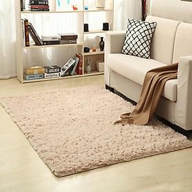 60x160cm Solid Color Carpet Mat for Living Room Tea Table Bedroom Bedside Decor