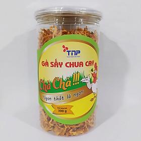 Gà sấy chua cay Chà Chà - Thảo Nguyên Phát hũ 300g