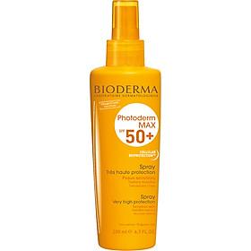 Chống Nắng Dạng Xịt Bioderma Photoderm Max Spray - 200ml