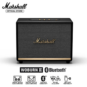 [Hàng chính hãng] Loa Bluetooth Marshall WOBURN II Homeline - 1 năm bảo hành