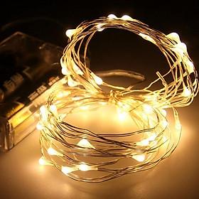 Dây đèn Fairy Light đom đóm chipsbling 10 mét dùng pin AA