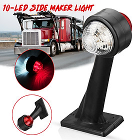 1 PCS 2 SIDE MARKER LIGHT LAMP TRAILER PARTS TO FIT ON,BRENDERUP,BRIAN JAMES,DAXARA