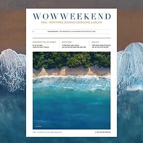 """Tạp chí Wowweekend vol 3 - Ấn phẩm """"REFRESH"""" cho mùa hè 2020"""