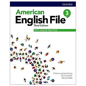 American English File: Level 3: Students Book With Online Practice - 3rd Edition