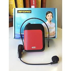 Máy trợ giảng không dây Aporo T20 UHF có Bluetooth  tặng micro cài áo có dây- Hàng nhập khẩu