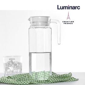 Bình nước thủy tinh Luminarc Quadro 1.1 Lít- LUQUG2666