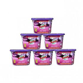 Combo 6 Hộp Hút Ẩm Khử Mùi Nấm Mốc Hương Lavender 450Ml