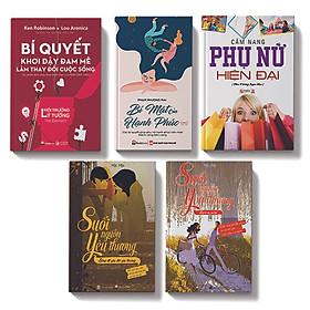 Bộ sách 5 cuốn:Bí quyết khơi dậy đam mê trong cuộc sống, Cẩm nang phụ nữ hiện đại, Suối nguồn yêu thương Sống để yêu thương, Bí mật của hạnh phúc,Suối nguồn yêu thương lý trí và con tim
