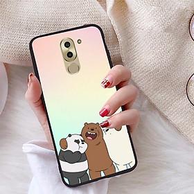Ốp lưng dành cho Huawei GR5 2017 viền dẻo TPU bộ sưu tập Chúng ta là gấu - Hàng chính hãng