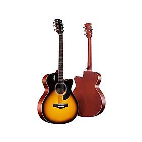 Đàn Guitar Acoustic Rosen G11 Sunbust Dáng A