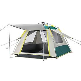 Lều cắm trại, du lịch, phượt, dã ngoại giành cho 2 đến 3 người TXZ085, chống mưa, chống thấm tốt, chống ti UV, lều 4 cửa sổ thoáng gió, nhỏ gọn (Giao Màu Ngẫu Nhiên)