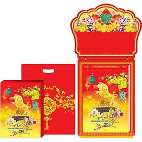 Lịch Bloc Gia Vũ Siêu Cực Đại (29x41 cm) - Phong Thủy Tài Lộc