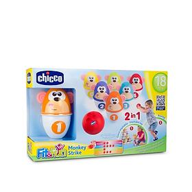 Bộ 6 Chiếc Đồ Chơi Bowling Khỉ Con 18M+ Chicco 5228