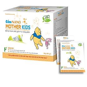 Hộp 20 gói cốm Nano MotherKids cho trẻ