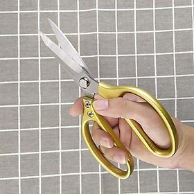 Kéo cắt đa năng Nhật Bản, chất liệu thép cao cấp có thể cắt gà , cắt vải...GS00885